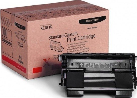 Картридж Xerox 113R00657 для Xerox Phaser print-cart 4500 black оригинальный увеличенный (18000 страниц)