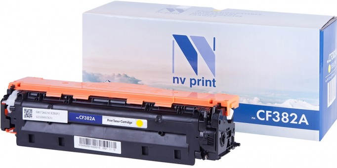 Картридж NV Print CF382A Yellow для принтеров HP CLJ Pro MFP M476 (2700k)