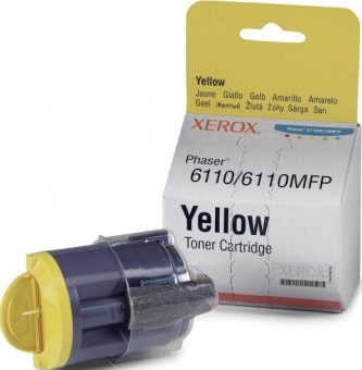 Картридж Xerox 106R01204 для Xerox Phaser 6110 yellow оригинальный увеличенный (1000 страниц)