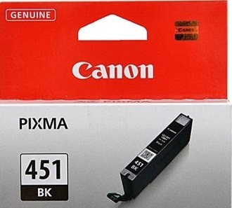 6523B001 Canon CLI-451Bk Картридж для PIXMA iP7240/MG6340/MG5440, black EMB, 1100стр.