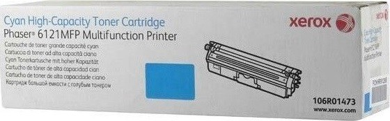 Картридж Xerox 106R01473 для Xerox Phaser 6121 blue оригинальный увеличенный (2500 страниц)
