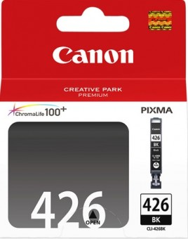 4556B001 Canon CLI-426bk Картридж для Pixma iP4840/MG5140/5240/6140/8140, Черный, 1505стр.