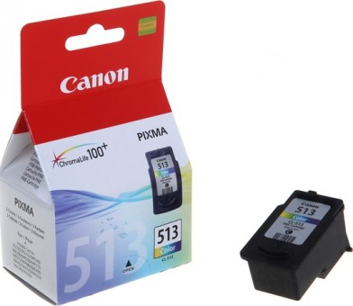 2971B007 Canon CL-513 Картридж для Canon PIXMA MP240, PIXMA MP260, PIXMA MX320, PIXMA MX330 EMB (color), Трёхцветный, 13 мл.