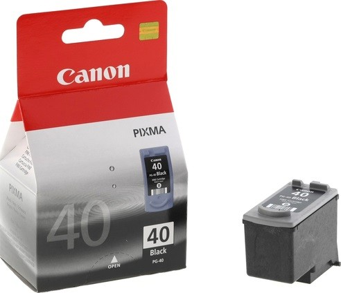 0615B025 Canon PG-40Bk Картридж для Canon MP150/170/450/iP2200/iP1600, Черный, 16ml