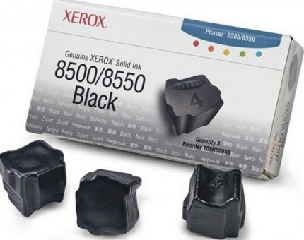 Картридж Xerox 108R00668 для Xerox Phaser 8500/8550 black оригинальный увеличенный (3000 страниц)