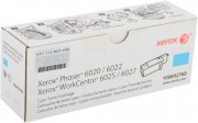 Картридж Xerox 106R02760 для Xerox Phaser 6020/6022/WC 6025/6027 blue оригинальный увеличенный (1000 страниц)
