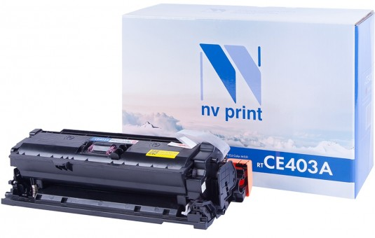 Картридж NV Print CE403A Magenta для принтеров HP CLJ Color M551 (6000k)
