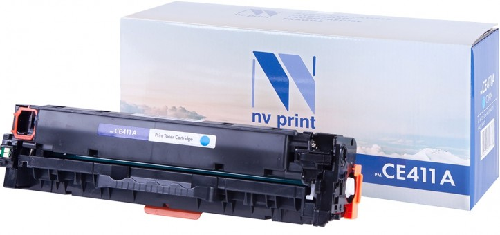 Картридж NV Print CE411A Cyan для принтеров HP CLJ Color M351/ M375/ M451/ M475 (2600k)