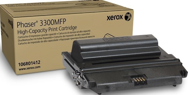Картридж Xerox 106R01412 для Xerox Phaser 3300MFP/X black оригинальный увеличенный (8000 страниц)