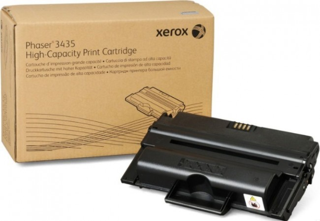Картридж Xerox 106R01414 для Xerox Phaser print-cart 3435 black оригинальный увеличенный (4000 страниц)