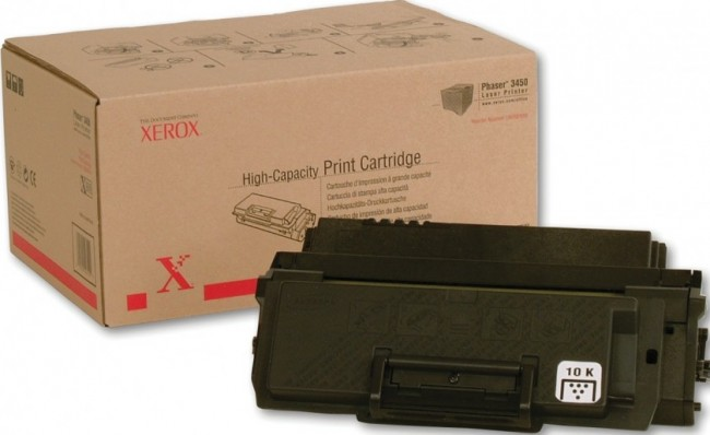 Картридж Xerox 106R00687 для Xerox Phaser print-cart 3450 black оригинальный увеличенный (5000 страниц)