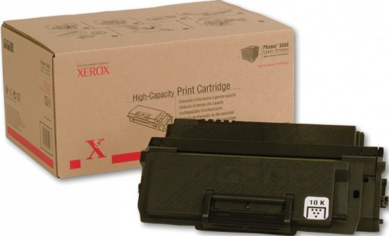 Картридж Xerox 106R00688 для Xerox Phaser print-cart 3450 black оригинальный увеличенный (10000 страниц)