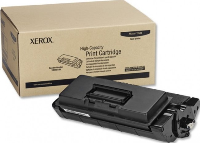 Картридж Xerox 106R01149 для Xerox Phaser 3500 black оригинальный увеличенный (12000 страниц)