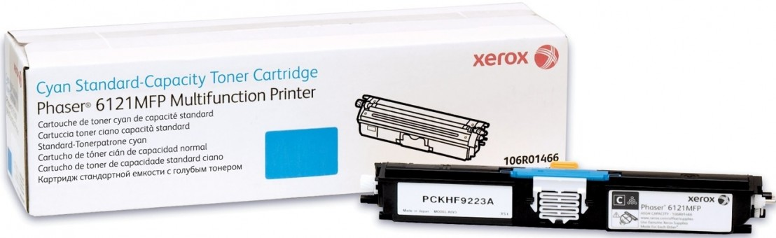 Картридж Xerox 106R01463 для Xerox Phaser 6121 blue оригинальный увеличенный (1500 страниц)