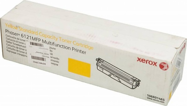 Картридж Xerox 106R01465 для Xerox Phaser 6121 yellow оригинальный увеличенный (1500 страниц)