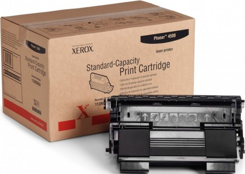Картридж Xerox 113R00656 для Xerox Phaser print-cart 4500 black оригинальный увеличенный (10000 страниц)