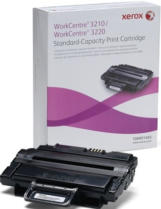 Картридж Xerox 106R01485 для Xerox RX WC 3210/3220 black оригинальный увеличенный (2000 страниц)
